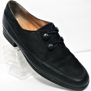 Selby 9 Quickstep Handcrafted Moc Fit Black Loafer